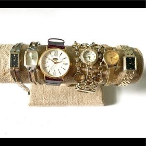 Watch Lot Vintage timex Cambridge seiko